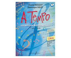 Methode Chant A Tempo Volume 1, Partie orale - Ch. Boulay - Ed. Billaudot