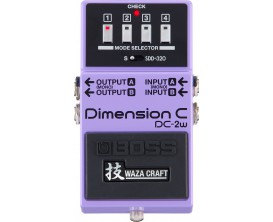 BOSS DC-2w - Pédale Dimension, fabrication Wazacraft Japon