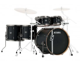 TAMA ML52HLZBNS-FBK - Superstar Hyperdrive Maple, Kit 5PC sans HW ni cymbales, Flat Black