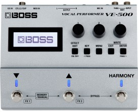 BOSS VE-500 - Processeur vocal multi-effets pour guitariste/chanteur