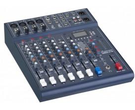STUDIOMASTER Club XS8 - Table de mixage compacte Club XS 8, 6 canaux, 8 entrées