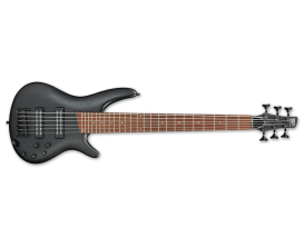 IBANEZ SR306EB-WK - Basse 6 cordes, EQ 3 bandes, Weathered Black