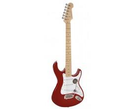"""RICHWOOD REG-320-RRM - Guitare électrique """"Santiago Standard"""", type strat, Corps Oukoume, Manche érable canadien touche érable,"""