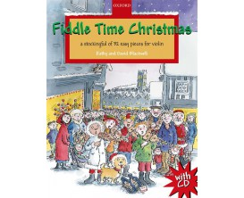 LIBRAIRIE - Fiddle Time Christmas - Violin book (avec CD) - Blackwell - Ed. Oxford