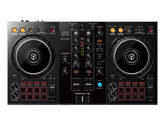 PIONEER DDJ-400 - Contrôleur 2 canaux pour logiciel Rekordbox DJ (fourni)