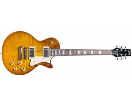 THE HERITAGE H-150 DLB - Guitare électrique LP, Kalamazoo, Corps acajou, table Curly Maple, 2 Humbuckers Seymour Duncan '59, Fi