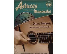 Astuces de la Guitare Manouche Volume 2 (Avec CD) - D. Roux, A.Debarre, S. Daussat - Ed. Coup de Pouce