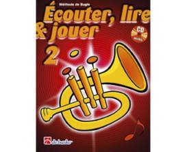 LIBRAIRIE - Méthode Bugle Ecouter Lire & Jouer Vol.2 - (Ed. Dehaske) (1002361)