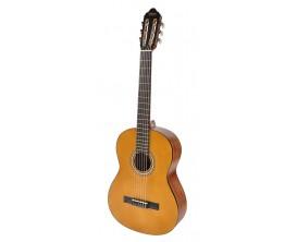 VALENCIA VC-203L LH NAT - Guitare classique d'initiation 3/4 GAUCHER, table épicéa, Finition Naturel