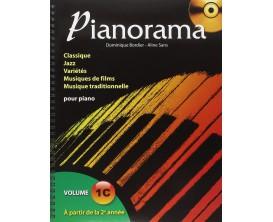 PIANORAMA 1C - D. Bourdier, A. Sans - Hit Diffusion