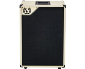 "VICTORY AMP V212VC - Baffle guitare Deluxe 2x12"" Celection Creamback, 130 watts, Made in UK"