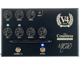 "VICTORY AMP The Countess Pedal - Pédale Préampli ""The Countess"" à lampes, Made in UK"