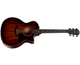 TAYLOR 324ce V-Class - Grand Auditorium, Table acajou tropical massif, Corps Blackwood de Tasmanie, ES-2, barrage V-Class, Finit