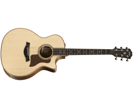 TAYLOR 714CE V-Class - Guitare Grand Auditorium, Corps Indian Rosewood, Table épicéa Lutz, V-Class Bracing, Electro ES-2, Nature