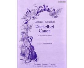 Pachelbel Canon For Euphonium and Piano - J. Pachelbel, D.Dorff - Ed. Presser Company