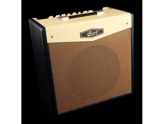 """CORT CM30R BK - Combo guitare électrique 30 watts 2 canaux, HP 10"""", Reverb, Bluetooth, Noir"""