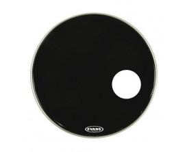 EVANS BD22RB - Peau de résonance de grosse caisse noire EQ3, 22 pouces