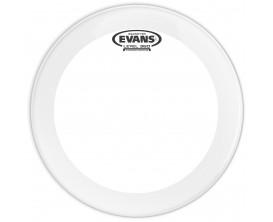 EVANS BD22GB4 - Peau de grosse caisse EQ4 transparente, 22 pouces