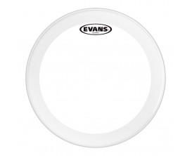 EVANS BD22GB3 - Peau de grosse caisse EQ3 transparente, 22 pouces