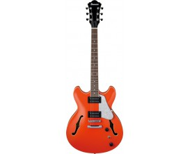 IBANEZ AS63 TLO - Guitare demi-caisse , série Artcore, corps sapélé, Twilight Orange