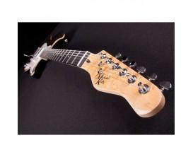 MICHAEL KELLY CC65 SEPRB - Guitare électrique type Strat, Corps en Swamp Ash, table ébène striée, Micros SSH Rockfield, finition