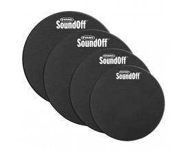 """Evans Soundoff SO-0244 - Pack de sourdines SoundOff Fusion (10"""", 12"""", 14"""", 14"""")"""