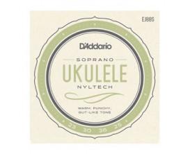 D'ADDARIO EJ88S - Jeu cordes ukulélé Soprano Nyltech .024, .030, .036, .026