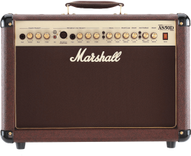 MARSHALL AS50D - Ampli Electro-acoustique 50 watts, marron