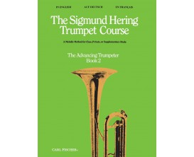The Sigmund Hering Trumpet Course, Book 2, The Advancing Trumpeter - Ed. Carl Fischer