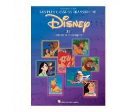Les Plus Grandes Chansons de Disney (Piano / Guitare / Chant) - 31 chansons classiques - Ed. Hal Leonard
