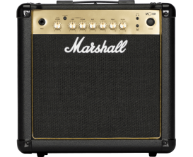 MARSHALL MG15GR - Combo 15 Watts MG Gold, reverb