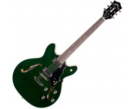 GUILD Starfire IV ST EG - Guitare Hollowbody type 335, Corps érable, manche acajou, 2 humbucker Guild, Emerald Green (avec étui