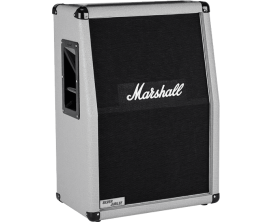 "MARSHALL 2536A - Baffle 2x12"" vertical Silver Jubilee, 140w, pan coupé"