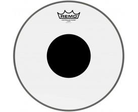 """REMO CS-0306-10 - Peau CS Transparente 6"""" + rond noir, pour Tom"""