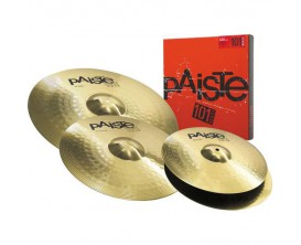 "PAISTE 101 Set Universal 14-16-20 - Pack cymbales 14"" Hi Hat + 16"" Crash + 20"" Ride"