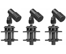 BEYERDYNAMIC TG D35D TRIPLE SET - Set de 3 Micros dynamiques pour batterie ou percussions (avec pinces)