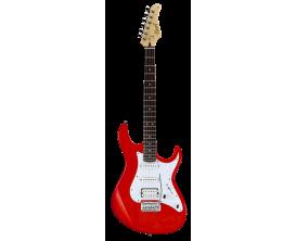 CORT G250 SRD - Guitare électrique, Corps Tilleul, touche érable, micros SSH, Vibrato Vintage 2 points, Scarlet Red