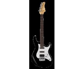 CORT G250 BK2 - Guitare électrique, Corps Tilleul, touche Jatoba, micros SSH, Vibrato Vintage 2 points, Noir