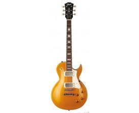 CORT CR200 GT2 - Guitare électrique, Corps Acajou, touche Jatoba, micros HH, Cordier T.O.M., Gold Top