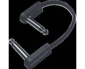 EBS - PCF-DL10 - Flat Patch Cable 10 cm, jacks coudé