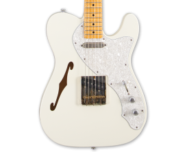 MAYBACH Teleman Thinline 68 VW - Guitare Custom Shop type Tele, Corps aulne Thinline, Manche et touche érable, Micros Van Zandt