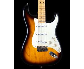 MAYBACH Stradovari S54 2-Tone Sunburst Aged - Guitare type Strat , Corps Swamp Ash, Manche et touche érable, Micros Custom Mayba