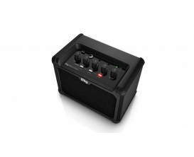 IK MULTIMEDIA Irig Micro Amp - Amplificateur guitare 15W à Piles ou secteur, avec interface iOS / USB