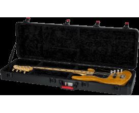 GATOR GPE-Bass-TSA - Etui en ABS Deluxe pour basse électrique, fermetures TSA (Avion)