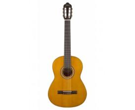 VALENCIA VC-204L NAT - Guitare classique études 4/4, table épicéa, Finition Naturel GAUCHER