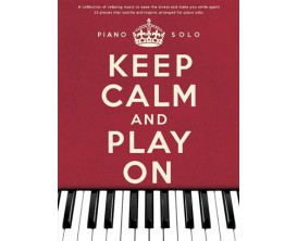 Keep Calm and Play On - Piano Solo - Wise Publications