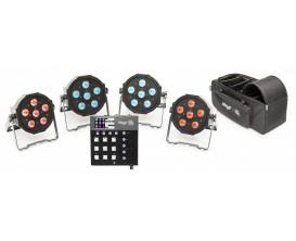 """STAGG SLT STRAT SET-2 - Système d'éclairage complet """"LightTheme™ Starter Set"""""""