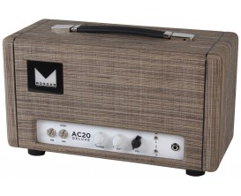 MORGAN AC-20 DELUXE HEAD DRIFTWOOD - Tête lampes 20 watts Deluxe, Finition Driftwood