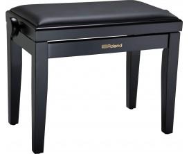 ROLAND RPB-200BK-EU - Banquette piano noir satiné, dessus vinyle noir