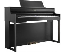 ROLAND HP704-CH- Piano meuble numérique, Charcoal Black (satiné)